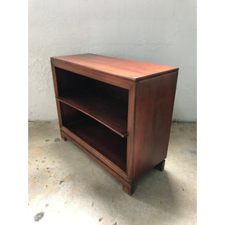 Pair of Paul Frankl Petite Mahogany Bookcases for Johnson Furniture Co. Preview
