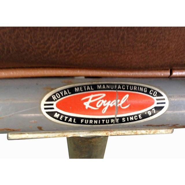 Wolfgang Hoffmann Style Chrome Tublar Sofa by Royal Metal For Sale - Image 9 of 9