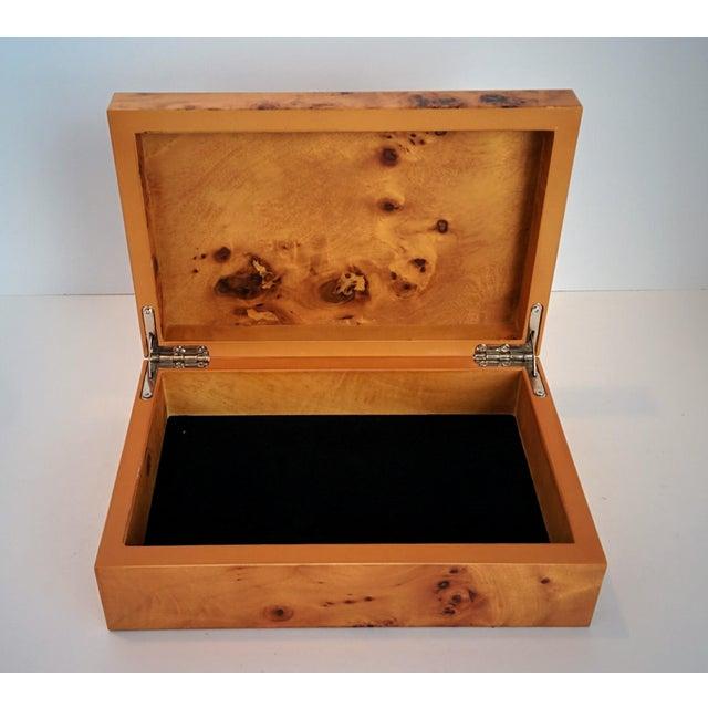 Burl Wood Box - Image 6 of 10