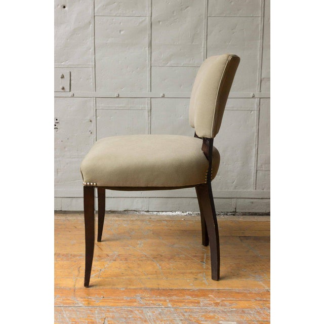 Art Deco Style Side Chair Frame - Image 9 of 11