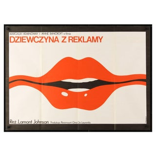 """Lipstick"" Polish 1976 Film Poster For Sale"