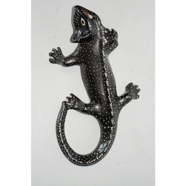 Hand Painted Ceramic Gecko - Image 2 of 6