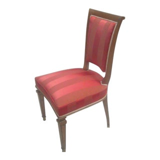 2 French Mid-Century Modern Neoclassical Side Chairs Attributed to André Arbus