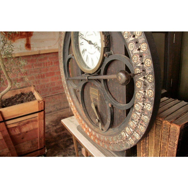 German Punching Clock 1920s For Sale In Los Angeles - Image 6 of 10