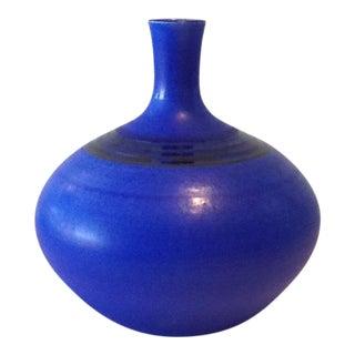Blue Porcelain Bottle