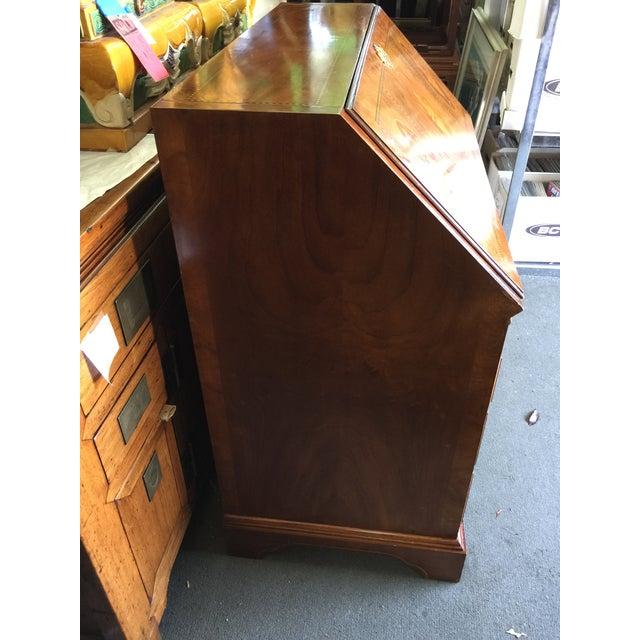Drexel Biltmore Estates Drexel Drop Front Desk For Sale - Image 4 of 13