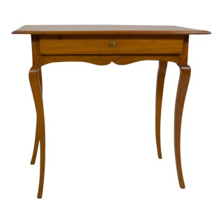 19th-Century Country French Cherry Table For Sale
