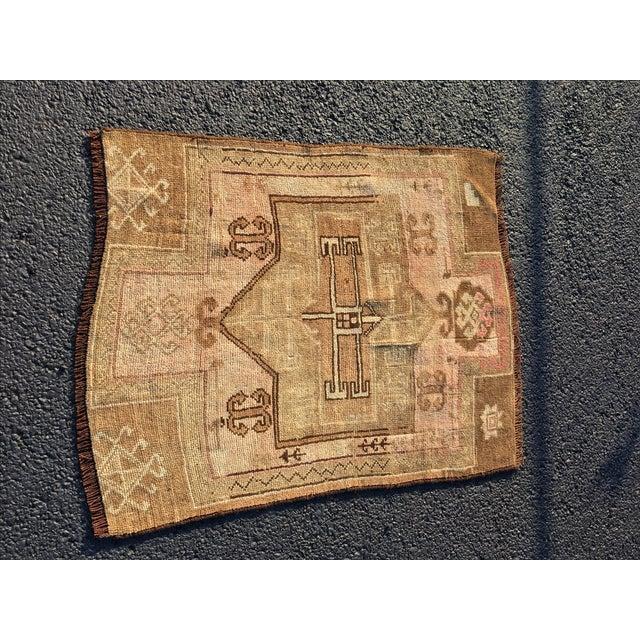 """Antique Turkish Oushak Rug - 2'7"""" x 3'6"""" - Image 2 of 6"""
