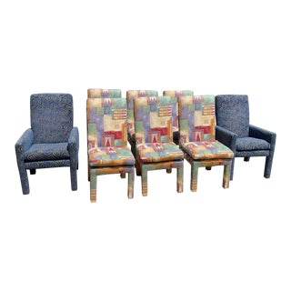 Vintage Milo Baughman for Thayer Coggin Dining Chairs - Set of 8 For Sale