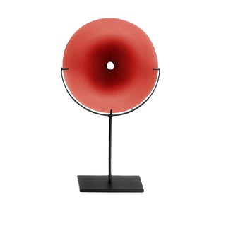 SkLO Pool Glass Object Small - Red For Sale