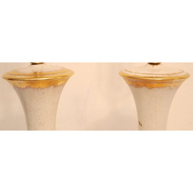 Vintage Dogwood Table Lamps - a Pair - Image 7 of 7