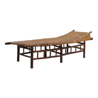 American Rustic Old Hickory Chaise For Sale