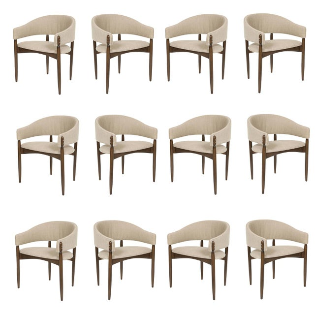 2010s Set of 12 Enroth Dining Chairs For Sale - Image 5 of 5