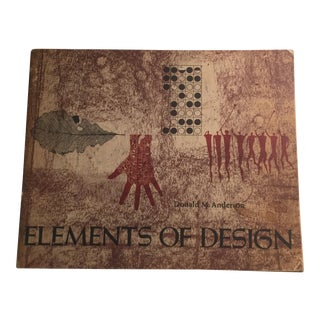 Donald M. Anderson Elements of Design Book, 1966 For Sale