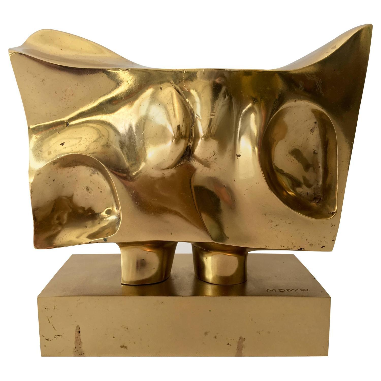 how to fit furniture in a small living room prince monyo bronze abstract sculpture chairish 28298
