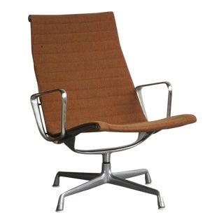 Eames Aluminum Group Lounge Chair For Sale