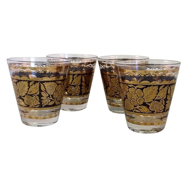 Georges Briard Lowball Glasses - Set of 4 - Image 1 of 5