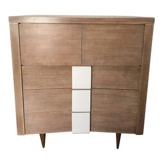 1950s Mid-Century Modern Vanleigh Furniture Chest of Drawers For Sale