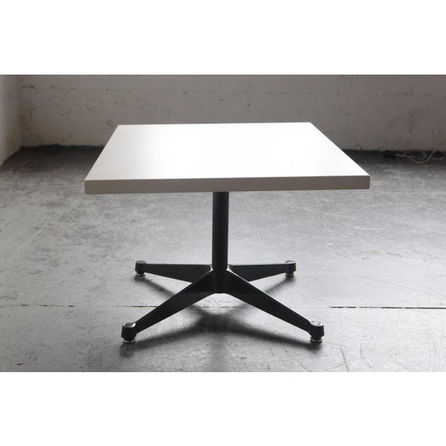 """This table was apart of a diverse Herman Miller line named the """"Everywhere Tables"""". The design of this coffee or work..."""