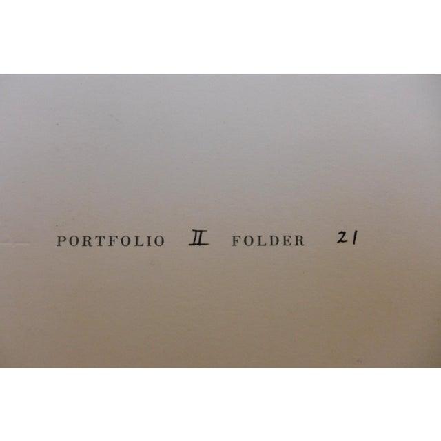 Tan Josef Albers Silkscreen, 1972 For Sale - Image 8 of 9