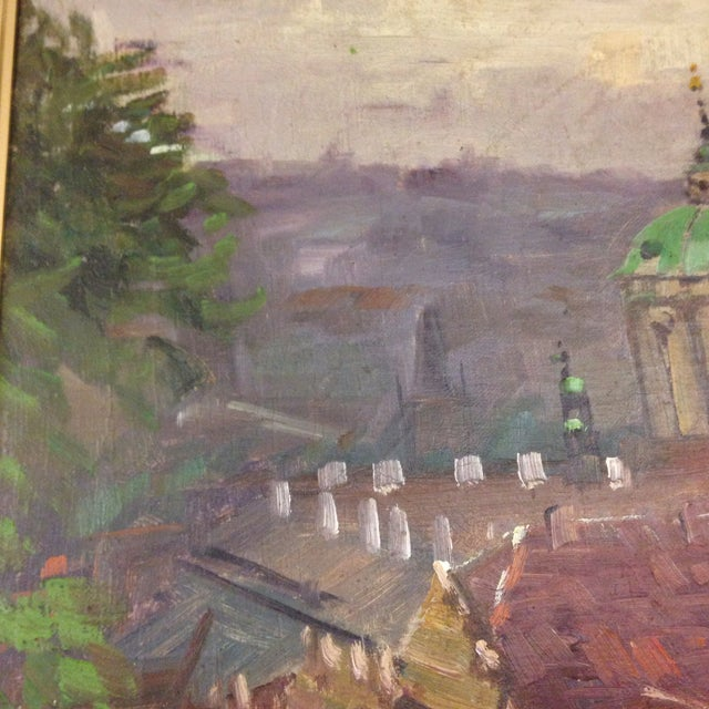 Original Italy Landscape Oil Painting For Sale - Image 4 of 7