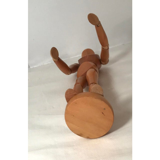 20th Century Figurative Artist Model of Articulating Man For Sale In Dallas - Image 6 of 11