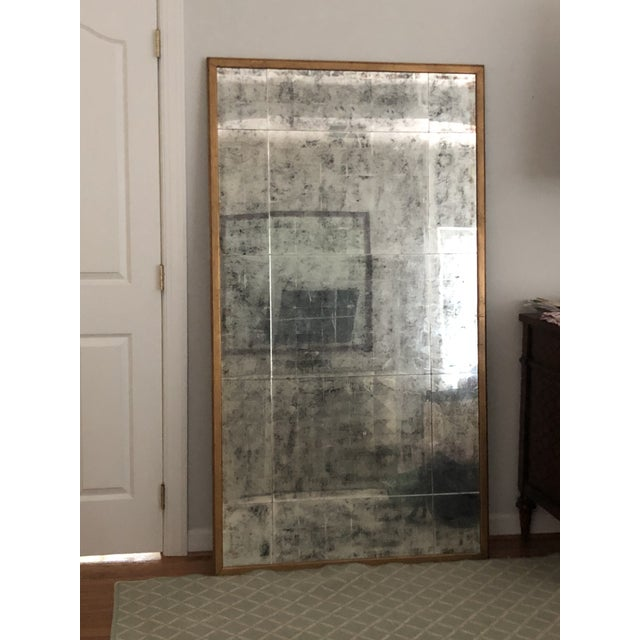 John Richard Gold Antiqued Mirror XL For Sale - Image 9 of 9
