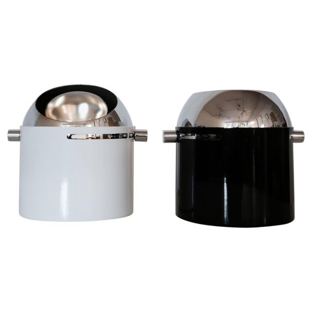 Pair of Bill Curry Design Line Spot Lamps For Sale - Image 9 of 9