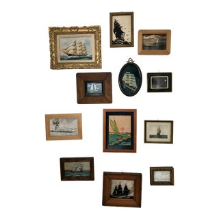 Ship Painting Collection - Set of 12