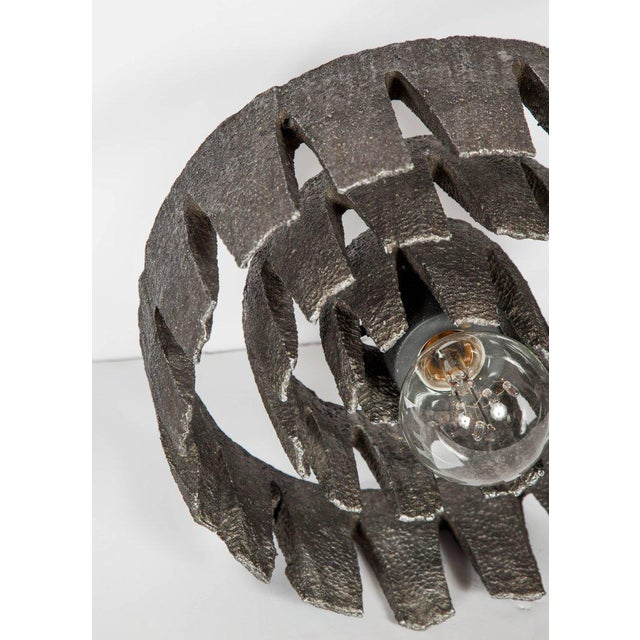 1960s 1960's Mid-Century Modern Brutalist Sculptural Lamp, Germany For Sale - Image 5 of 11