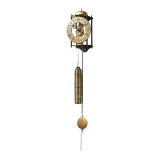 Regulator Brass Skeleton Wall Clock For Sale