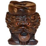 Image of 19th Century Black Forest Dog Humidor For Sale