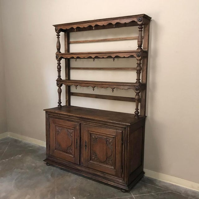 Italian 19th Century Italian Rustic Country Vaisselier For Sale - Image 3 of 11