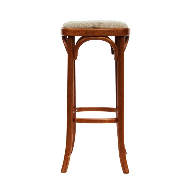 Rattan Barstools - Set of 3 - Image 2 of 4