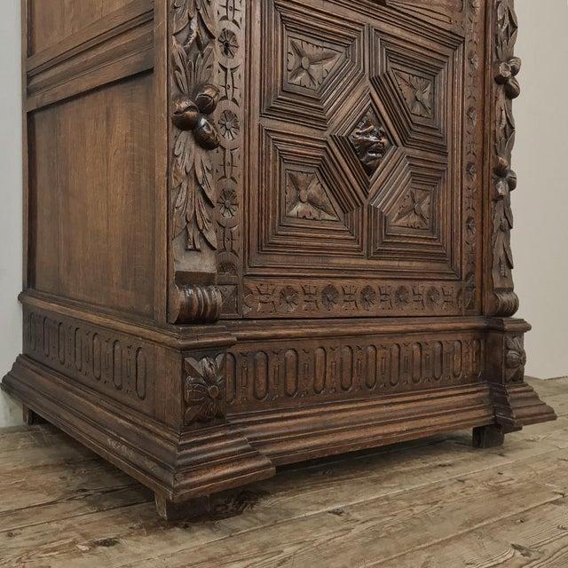 19th Century Flemish Renaissance Cabinet For Sale - Image 9 of 13