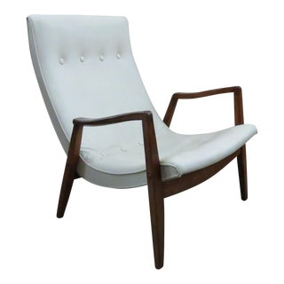 Milo Baughman Scoop Lounge Chair