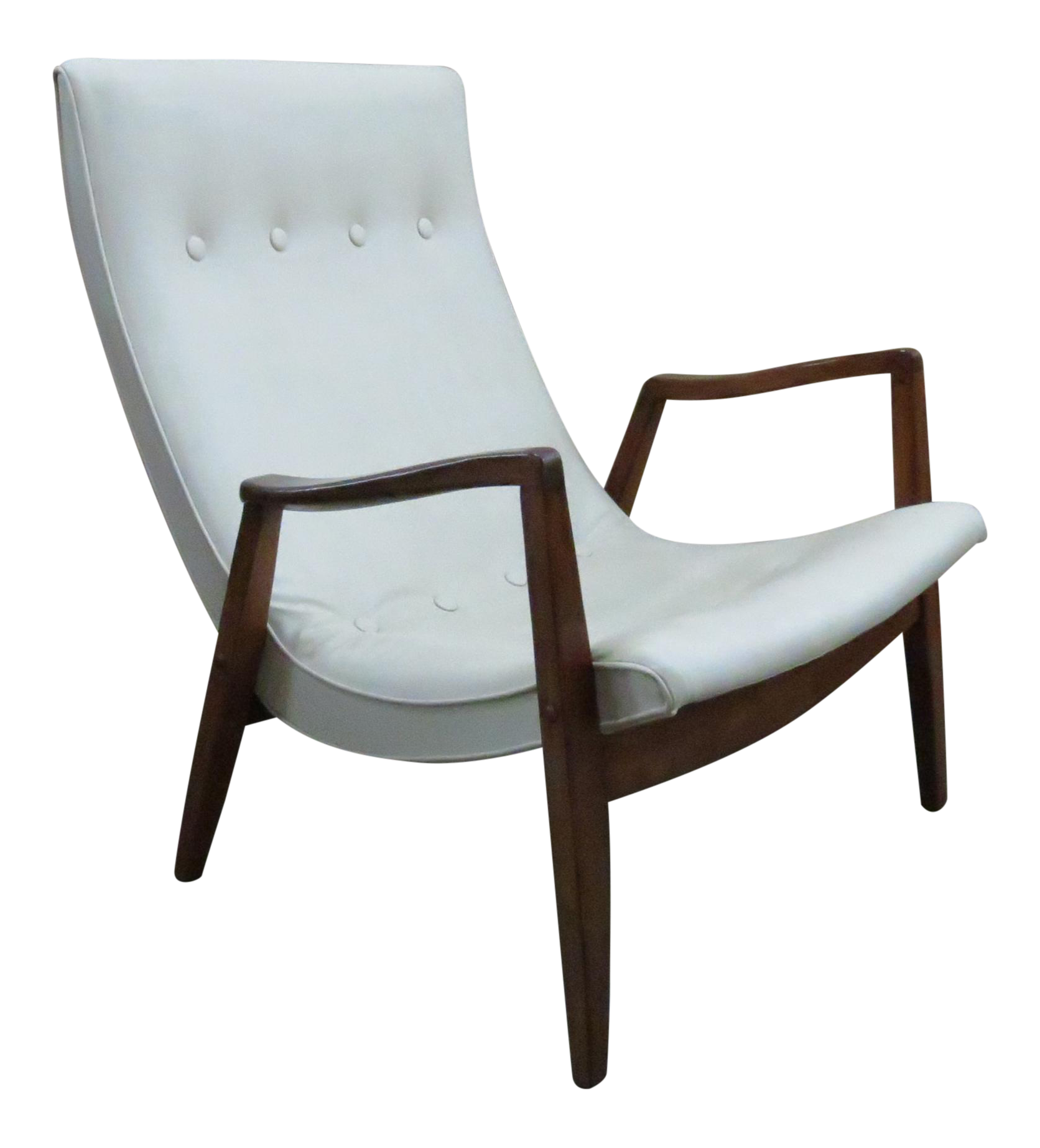 Marvelous Milo Baughman Scoop Lounge Chair   Image 1 Of 10