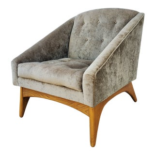 Mid-Century Modern Kroehler Lounge Chair For Sale