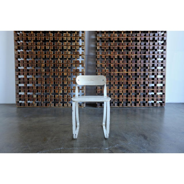 """1940s Herman H. Sperlich for Ironrite """"Health"""" Chair For Sale - Image 11 of 13"""