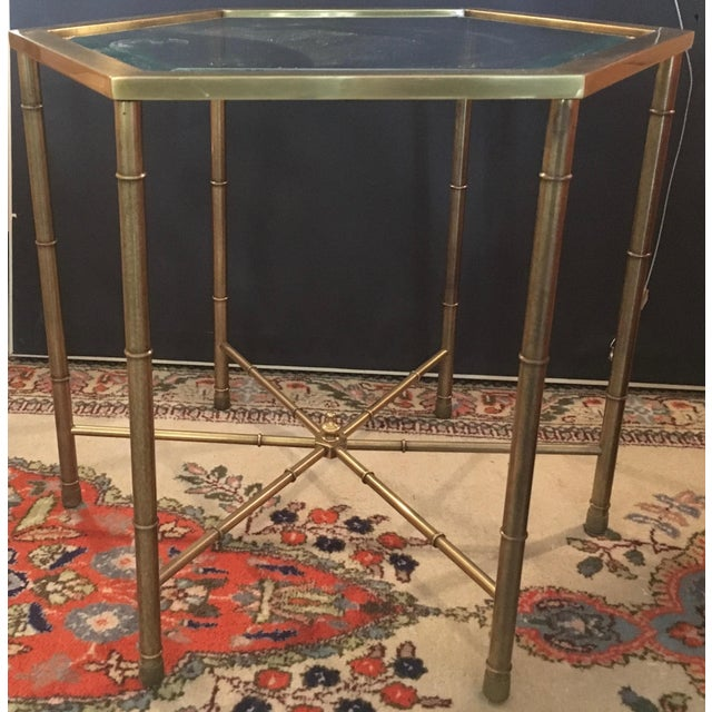 Mastercraft Brass Side Table - Image 2 of 5
