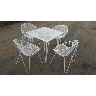 1950s Mid-Century Modern Salterini Hairpin Leg Dining Set - 5 Pieces Preview