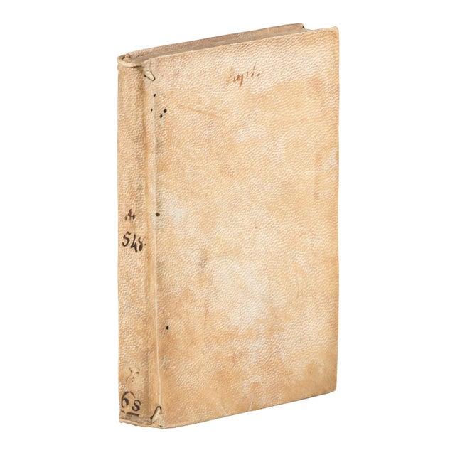 Mid 16th Century Antique Vellum Book, Catharinus' Polemic Against Savonarola - 1st Edition For Sale - Image 4 of 4