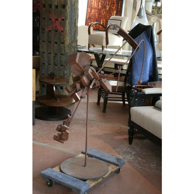 1960s Bertoia Style Sculpture For Sale - Image 5 of 8
