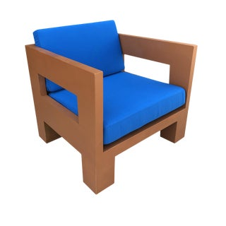 Teak Bali Lounge Chair For Sale