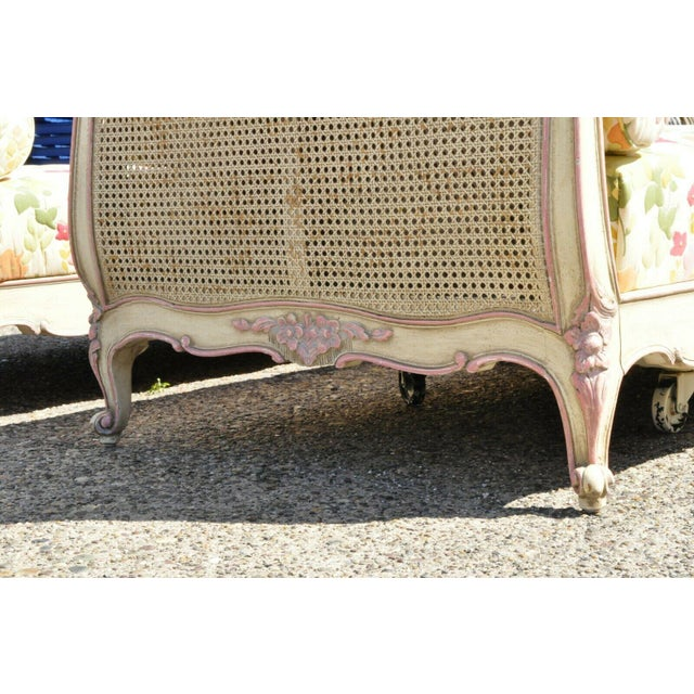 Early 20th Century French Louis XV Style Daybeds- a Pair For Sale In Philadelphia - Image 6 of 12