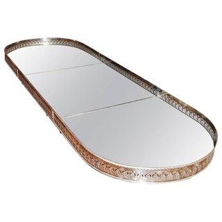 19th Century Silver Surtout De Table Tray