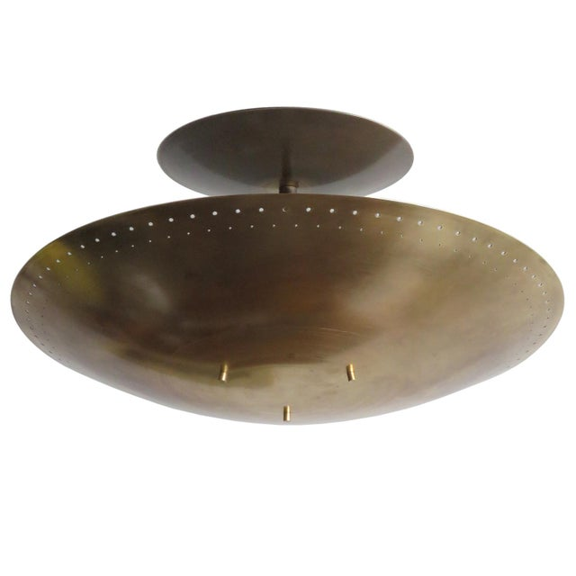 "Gallery L7 ""Utah"" Ceiling Flush Mount For Sale - Image 11 of 11"