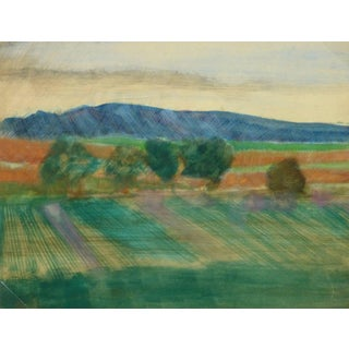 French Landscape - Les Baux De Provence For Sale
