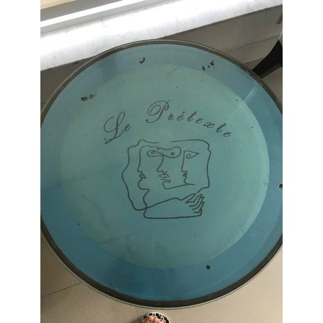 Jean Cocteau Cafe Table For Sale In Miami - Image 6 of 8