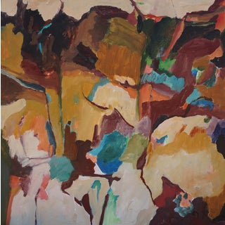 """Laurie MacMillan """"Looking Up"""" Abstract Landscape For Sale"""